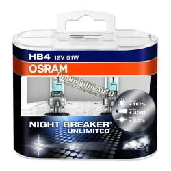Bóng đèn Osram HB4 Night Breaker Unlimited 90