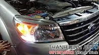 Video FORD EVEREST nâng cấp led chạy