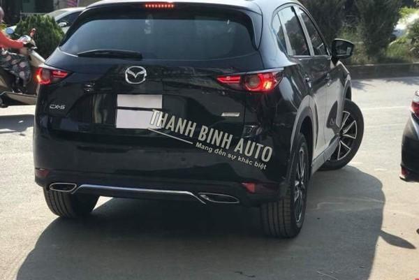 Lip Sau 2 Pô Kiểu Mer Xe Mazda Cx5 2018