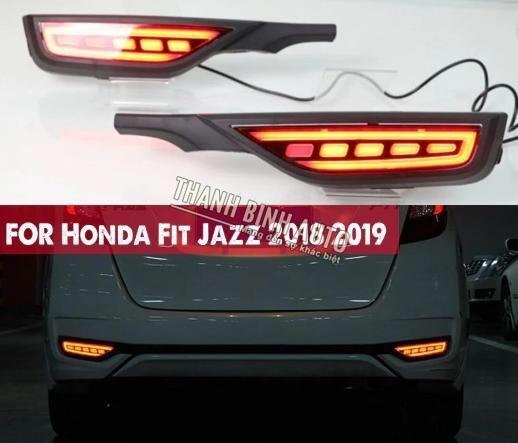 Đèn Led Gầm Cản Sau Xe Honda Jazz 2019 2020 135645 Tại
